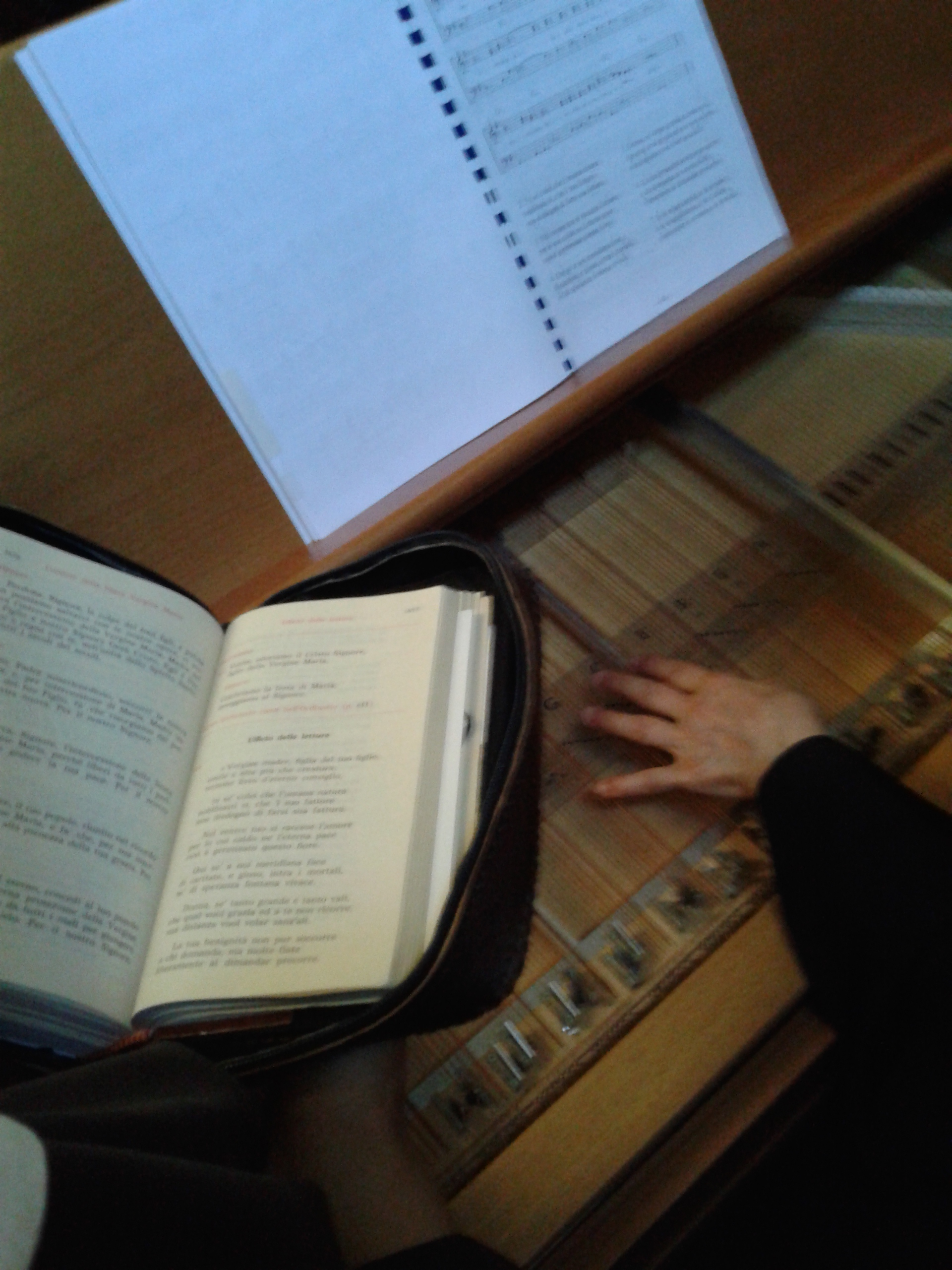 cetra nella liturgia